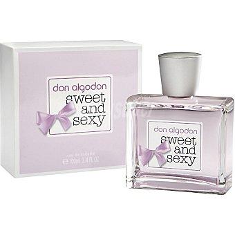 Don Algodón Sweet&sexy eau de toilette femenina vaporizador 100 ml