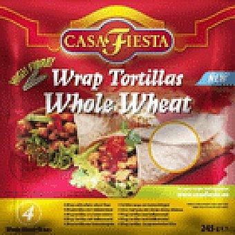 Casa Fiesta TORTILLA INTEGRAL 245 GRS