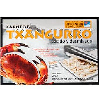 J. IZAGUIRRE Carne de txangurro cocido-desmigado Caja 200 g