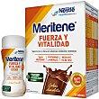 Fuerza y Vitalidad batido sabor chocolate caja para la sensación de debilidad muscular y fatiga en general 15 sobres de 30 g Meritene