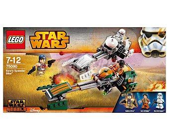 LEGO Juego de construcciones Star Wars Rebels, Ezra's speeder bike, modelo 75090 1 unidad.