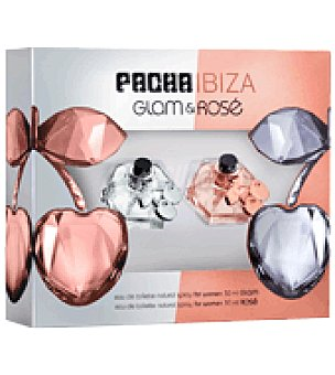 Pachá Ibiza Estuche de colonia spray Glam 30 ml. + colonia spray Rosé 30 ml. 1 ud
