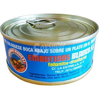 BLANCO Paté de hígado lata 80 g