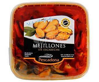 PESCADONA, S.A. Mejillones en escabeche pescadona 300 g. peso neto escurrido