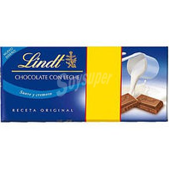 Lindt Chocolate con leche Pack 2x125 g