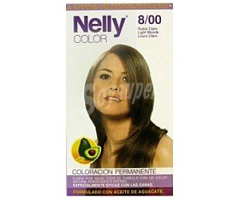 NELLY Color Tinte en crema Rubio Claro Nº 8/00 1 Unidad