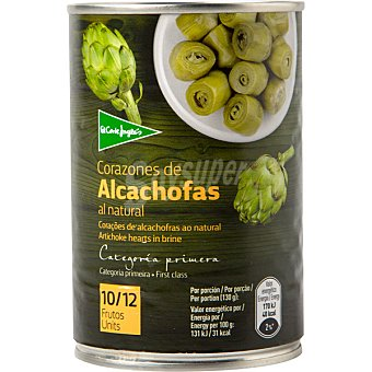 Aliada Corazones de alcachofa 10-12 piezas Lata 240 g neto escurrido
