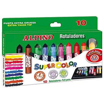 Alpino Rotuladores Supercolor Alpino Surtidos 10 uds