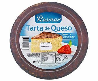 ROSMAR Tarta de queso suave y esponjosa 750 gramos