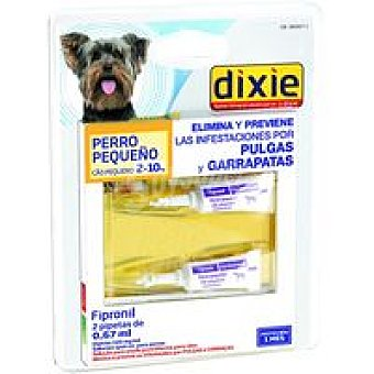 Dixie Pipetas Fripronil 2-10 kg 0,67 ml