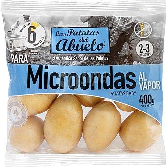 LAS PATATAS DEL ABUELO Patatas baby microondas al vapor Bolsa 400 g