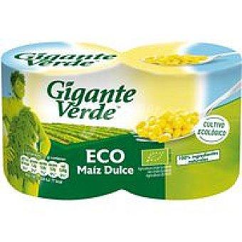 Gigante Verde Maíz ecológico Pack 2