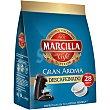 Café descafeinado natural 28 monodosis para cafetera Senseo paquete 210 g 28 monodosis Marcilla Gran Aroma