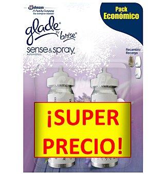 Glade Brise Ambientador recambio lavanda spray de 2 unidades
