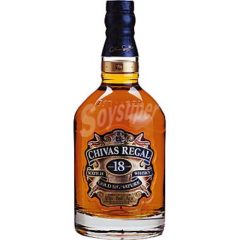 CHIVAS REGAL whisky escocés 18 años botella 70 cl