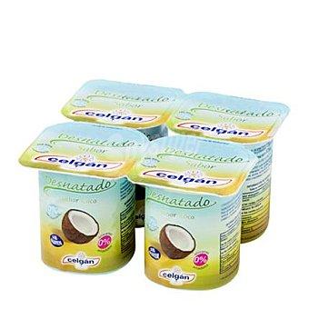 Celgan Yogur desnatado sabor coco 125 g