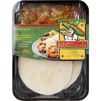 LAS RECETAS DE ROSALINDA Fajitas de pollo envase de 250 g