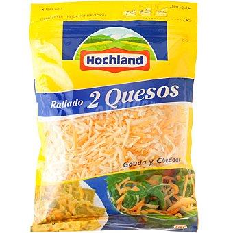 Hochland Queso rallado mezcla de gouda y cheddar Bolsa 200 g