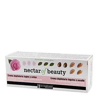 Les Cosmétiques Crema depilatoria ingles y axilas con aceite de rosa mosqueta - Nectar of Beauty 100 ml