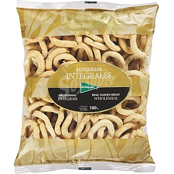 El Corte Inglés Rosquillas de pan integrales Bolsa 180 g