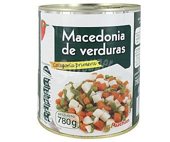 Auchan Macedonia de Verduras 480 Gramos Peso Escurrido