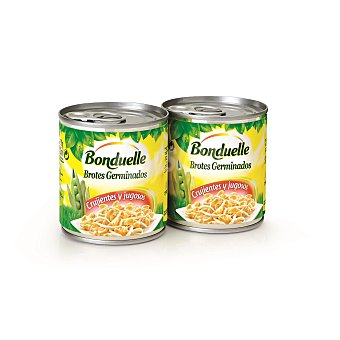 Bonduelle Brotes de soja Pack 2 latas 180 gr