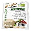 Quefu queso de soja curado sin leche 100% vegetal envase 200 g Soria Natural