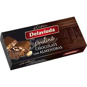 Delaviuda Turrón praliné de chocolate con almendras Calidad Suprema Tableta 300 g
