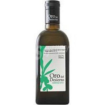 Oro del desierto Aceite Arbequina Botella de 500 ml