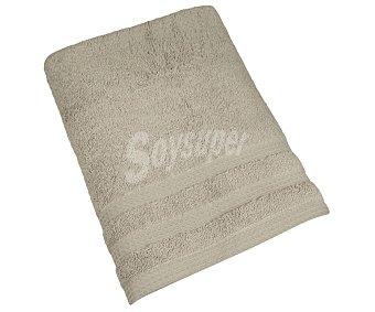 Actuel Toalla de baño 100% algodón biológico color marrón liso, /m² de densidad 540 g