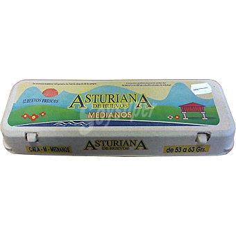 ASTURIANA DE HUEVOS Huevos morenos clase M Estuche 1 docena