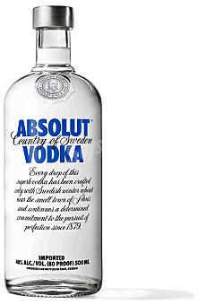 Absolut Vodka Absolut Vodka 50 cl