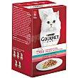 Comida húmeda para gatos adultos Gourmet Mon Petit Selección de pescados 6 x 50 gr 6 x 50 gr Gourmet