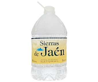 Sierras de Jaén Agua mineral 5 Litros