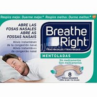 BREATH RIGHT Nas Vicks Caja 8 unid