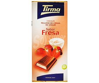 Tirma Chocolate Relleno Crema de Yogur Fresa 95 Gramos