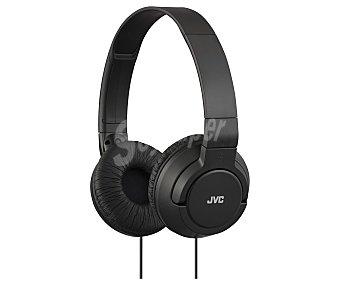 JVC HA-S180-B-E Auriculares cerrados tipo casco con cable, color negro