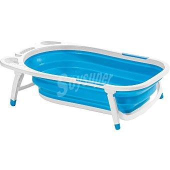 Innovaciones ms 6834 Baño para bebé plegable en color azul +0 meses