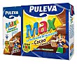 Leche con cacao y cereales, energía + crecimiento 3X200 ml Puleva Max