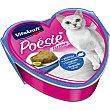 POESIE comida húmeda para gatos adultos con lenguado rebozado lata 85 g lata 85 g Vitakraft