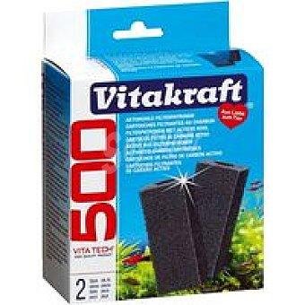 Vitakraft Esponja de carbón activo 500 Pack 1 unid