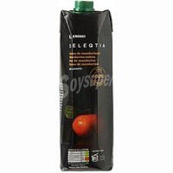 Eroski Seleqtia Zumo de mandarina 100% exprimida Eroski Brik 1 litro