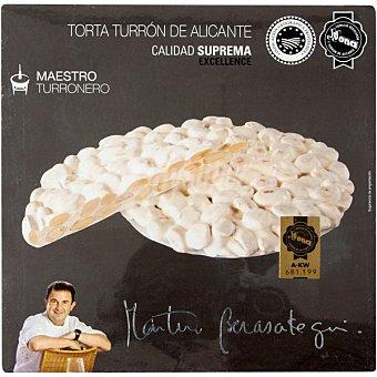MARTIN BERASATEGUI Maestro Turronero Torta de turrón de Alicante con almendra calidad suprema Estuche 200 g