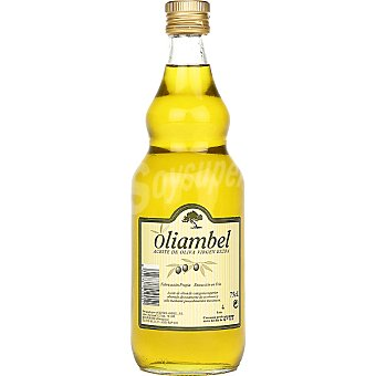 OLIAMBEL Aceite de oliva virgen extra Botella 750 ml