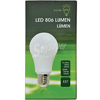 9,5 W (60W) lámpara LED luz fría casquillo E27 Grueso 1 unidad