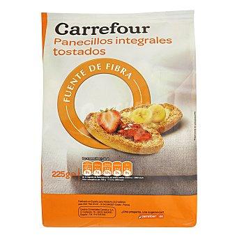 Carrefour Barritas tostadas integrales con fibra 225 g
