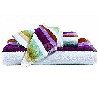CASACTUAL  Toalla sábana con rayas multicolores 1 Unidad