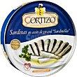 Sardinilla en aceite vegetal Lata 396 g Cortizo