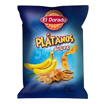 El Dorado Snack de plátano dulce 100 g