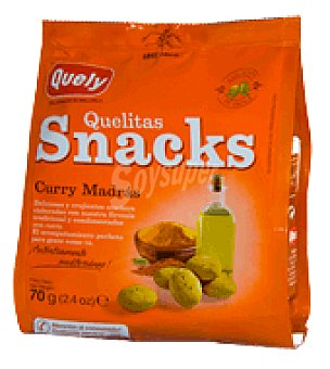 Quelitas Snacks curry 70 g